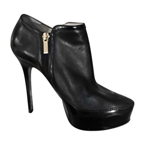 Bottines & low boots à talons JIMMY CHOO Noir