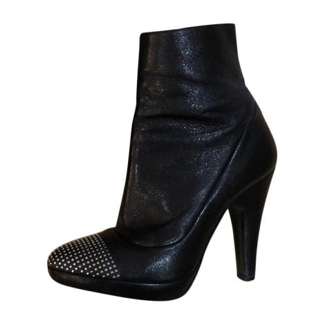 Bottines & low boots à talons BARBARA BUI Noir