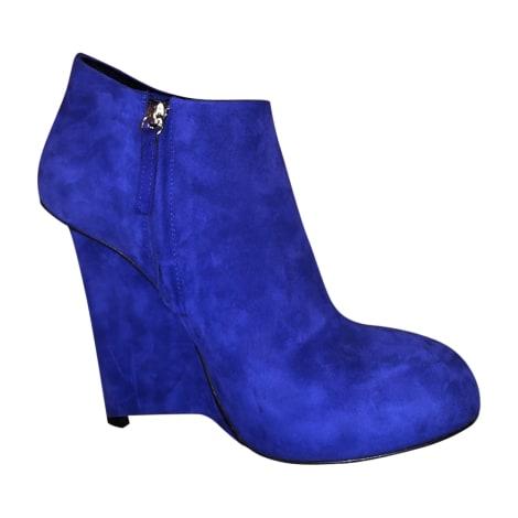 Bottines & low boots à compensés GIUSEPPE ZANOTTI Violet, mauve, lavande