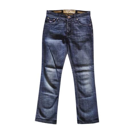 Jeans évasé, boot-cut JACOB COHEN Bleu, bleu marine, bleu turquoise
