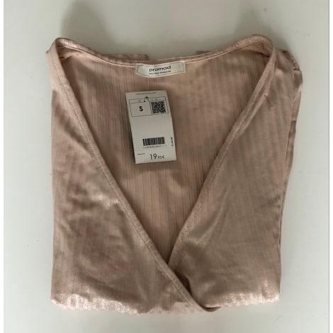 Top, tee-shirt PROMOD Rose, fuschia, vieux rose