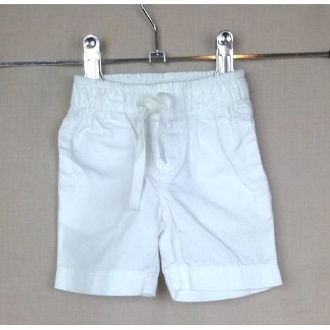 Short PETIT BATEAU Blanc, blanc cassé, écru
