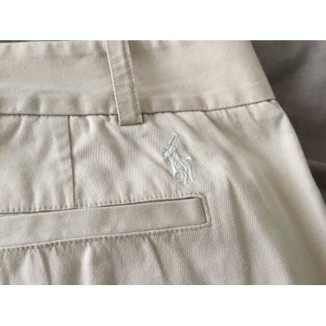 Pantalon droit RALPH LAUREN Beige, camel