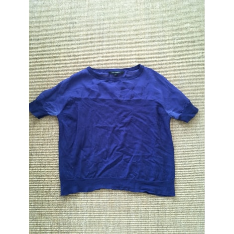 Top, tee-shirt TARA JARMON Bleu, bleu marine, bleu turquoise