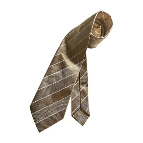 Cravate BRIONI Beige, camel