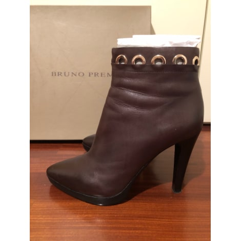 Bottines & low boots à talons BRUNO PREMI Marron