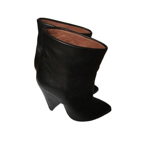 Bottines & low boots à talons IRO Noir