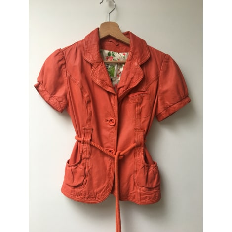 Veste en cuir SUSSEX KIRCILAR Orange