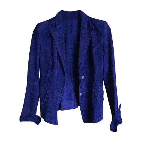 Blazer, veste tailleur SYLVIE SCHIMMEL Bleu, bleu marine, bleu turquoise