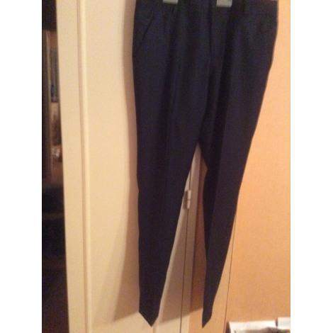 Pantalon droit COMPTOIR DES COTONNIERS Bleu, bleu marine, bleu turquoise