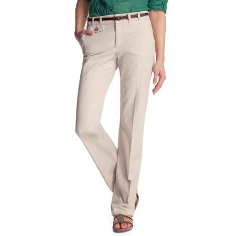 Pantalon droit ESPRIT Beige, camel