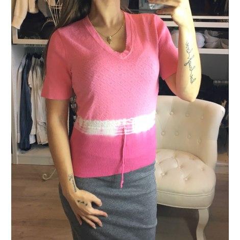Top, tee-shirt LA PENDERIE D'AMÉLIE Rose, fuschia, vieux rose