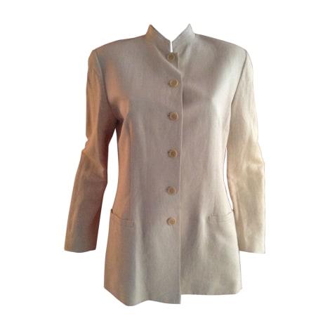 Blazer, veste tailleur KENZO Blanc, blanc cassé, écru