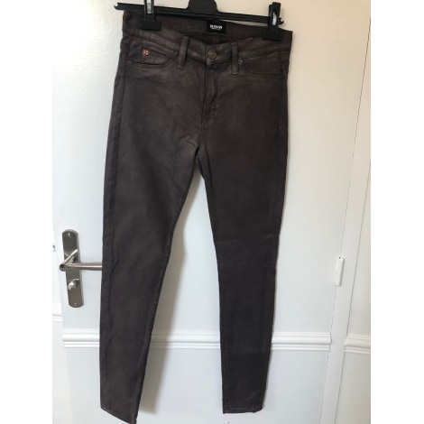Jeans slim HUDSON JEANS Marron
