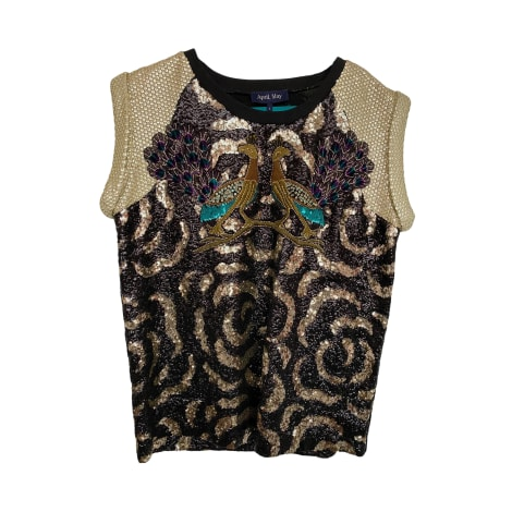 Top, tee-shirt APRIL MAY Multicouleur