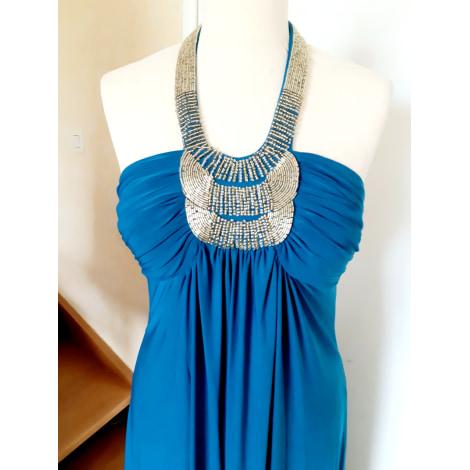 Maxi Kleid Apart 36 S T1 Blau 9793681