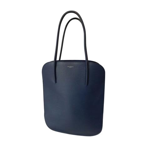 Lederhandtasche NINA RICCI Blau, marineblau, türkisblau