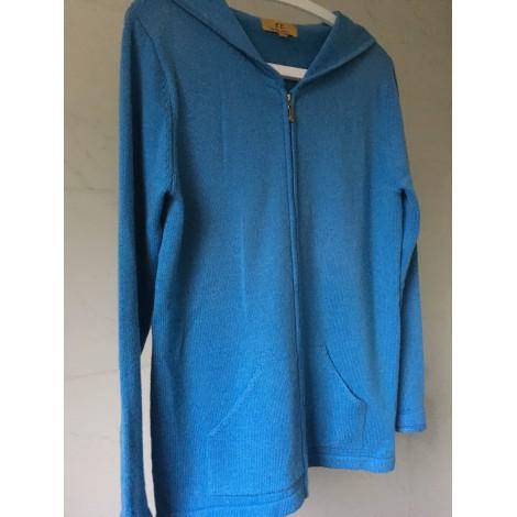 Gilet, cardigan BB Bleu, bleu marine, bleu turquoise