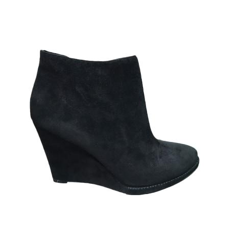 Bottines & low boots à compensés LOLA CRUZ Noir