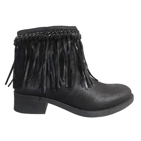 Bottines & low boots à talons LOLA CRUZ Gris, anthracite