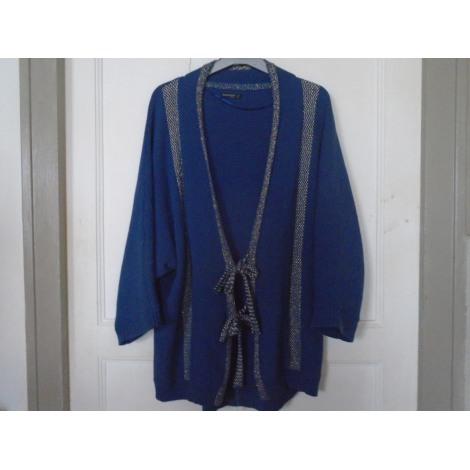 Gilet, cardigan BONOBO Bleu, bleu marine, bleu turquoise