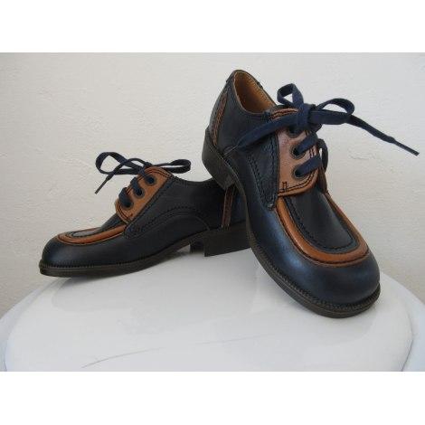 Chaussures à lacets LE LOUP BLANC Bleu, bleu marine, bleu turquoise