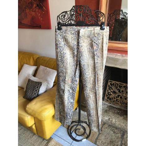 Pantalon droit VERTIGO Imprimés animaliers