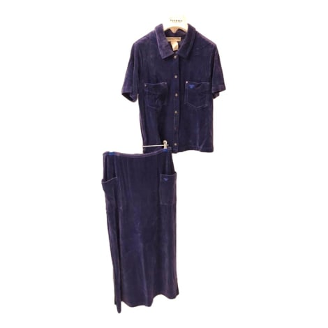 Tailleur jupe SONIA RYKIEL PARIS Violet, mauve, lavande