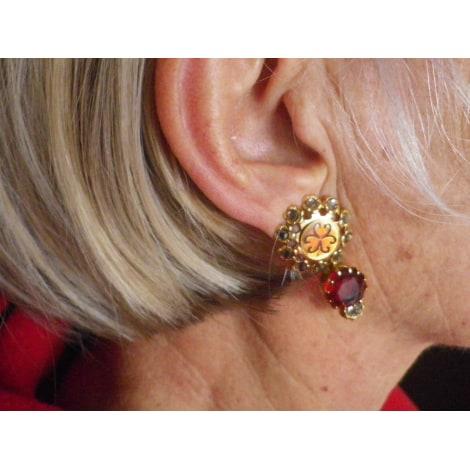 Boucles d'oreille REMINISCENCE Doré, bronze, cuivre