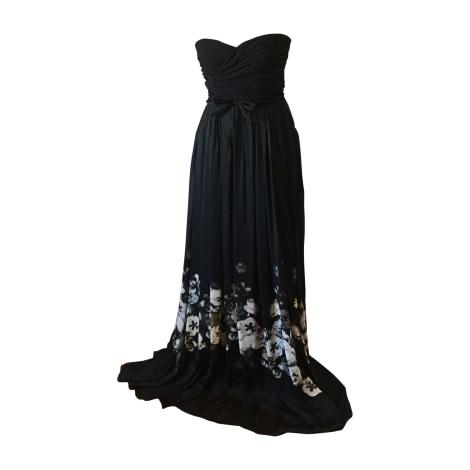 Robe longue GIAMBATTISTA VALLI Noir