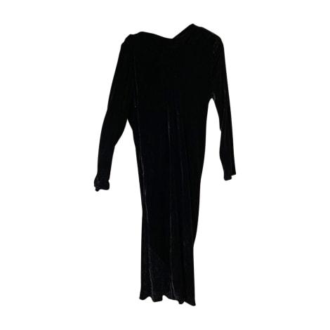 Robe longue LANVIN Noir