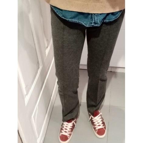Pantalon droit TARA JARMON Gris, anthracite