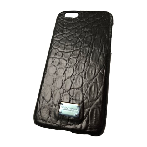 Etui iPhone  DOLCE & GABBANA Noir