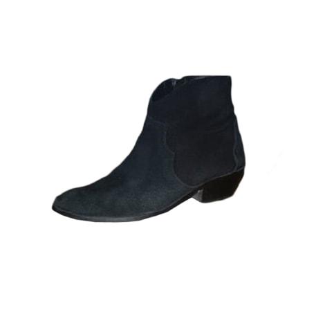 Bottines & low boots à talons ANONYMOUS COPENHAGEN Noir