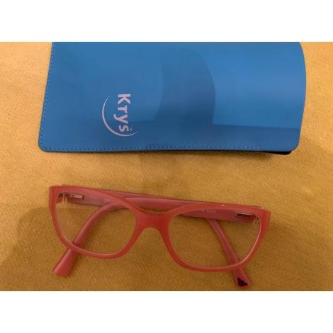 Monture de lunettes EMPORIO ARMANI Rose, fuschia, vieux rose