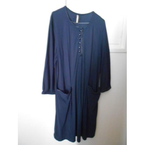 Robe mi-longue INDIES Bleu, bleu marine, bleu turquoise