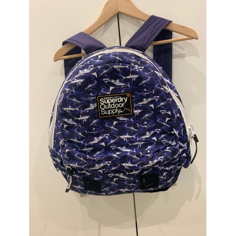 Backpack SUPERDRY Blue, navy, turquoise
