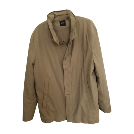 Imperméable, trench HUGO BOSS Beige, camel