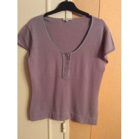 Top, tee-shirt ERIC BOMPARD Violet, mauve, lavande