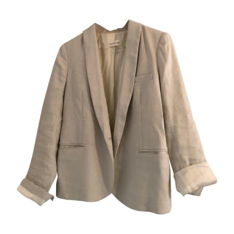 Blazer, veste tailleur ISABEL MARANT ETOILE Blanc, blanc cassé, écru
