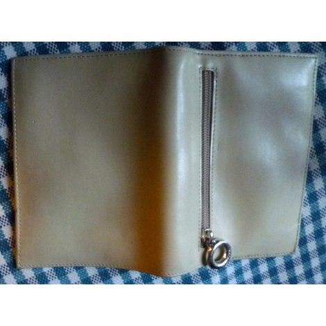 Portefeuille SEQUOIA Blanc, blanc cassé, écru