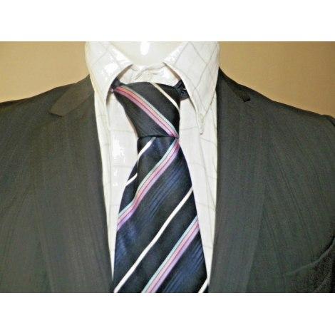 Cravate CERRUTI 1881 Bleu, bleu marine, bleu turquoise