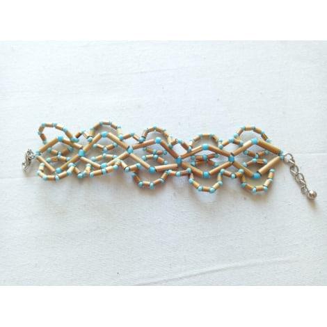 Bracelet MARQUE INCONNUE Blue, navy, turquoise