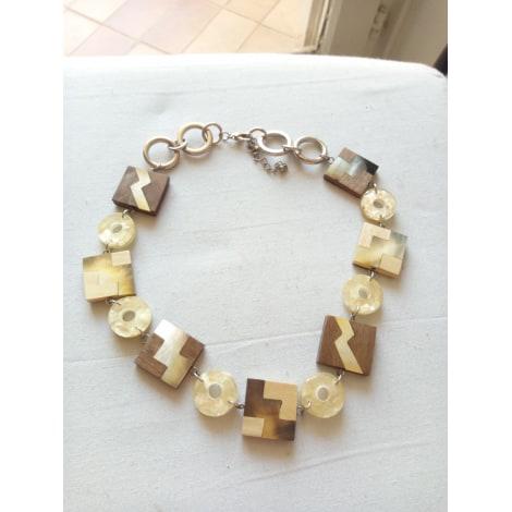 Necklace MARQUE INCONNUE White, off-white, ecru