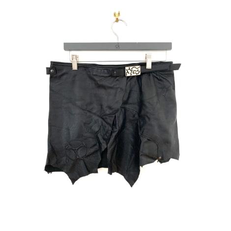 Jupe courte MARQUE INCONNUE Noir