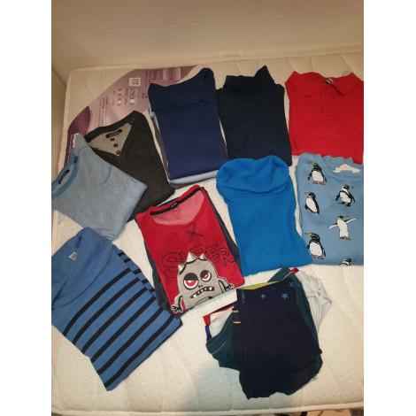 Pants Set, Outfit OKAÏDI Blue, navy, turquoise