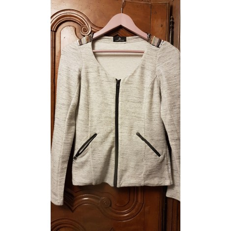 Gilet, cardigan ONE STEP Gris, anthracite