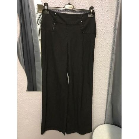 Pantalon large H&M Noir