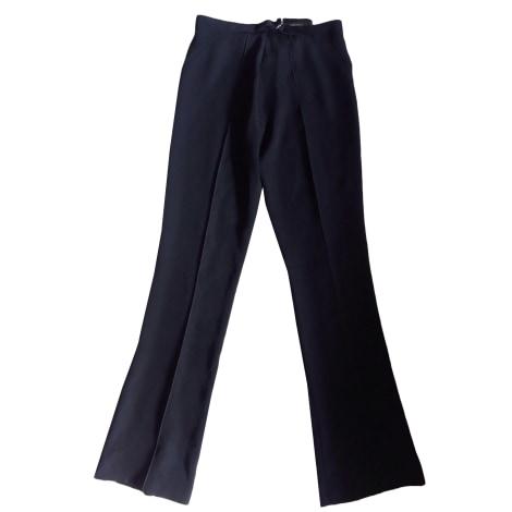 Pantalon large MARITHÉ ET FRANÇOIS GIRBAUD Noir