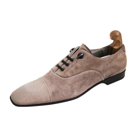 Chaussures à lacets CESARE PACIOTTI Gris, anthracite